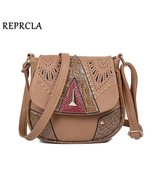 REPRCLA Vintage Hollow Out Women Shoulder Bag High Quality Crossbody Bag... - $18.18
