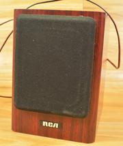 RCA Bookend Speaker RP-9150A Wooden 4-ohm 20-Watt Home Audio Estate Find One - $15.35
