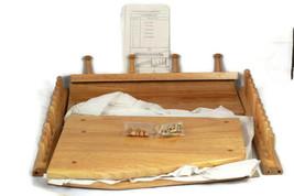 Home Trends Wooden Table Dinnerware Holder Dish Rack 14 x 17 - $32.17