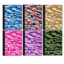 C/R 100 Ct. Camouflage Composition Book, 1-ct. - $2.50