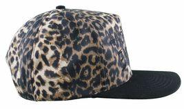 Another Enemy Unisex Safari Leopard Print Adjustable Snapback Baseball Hat NWT image 3