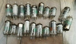 Misc Mixed Lot of ***  Vintage VACUUM TUBES *** Lot of 19 - $23.15