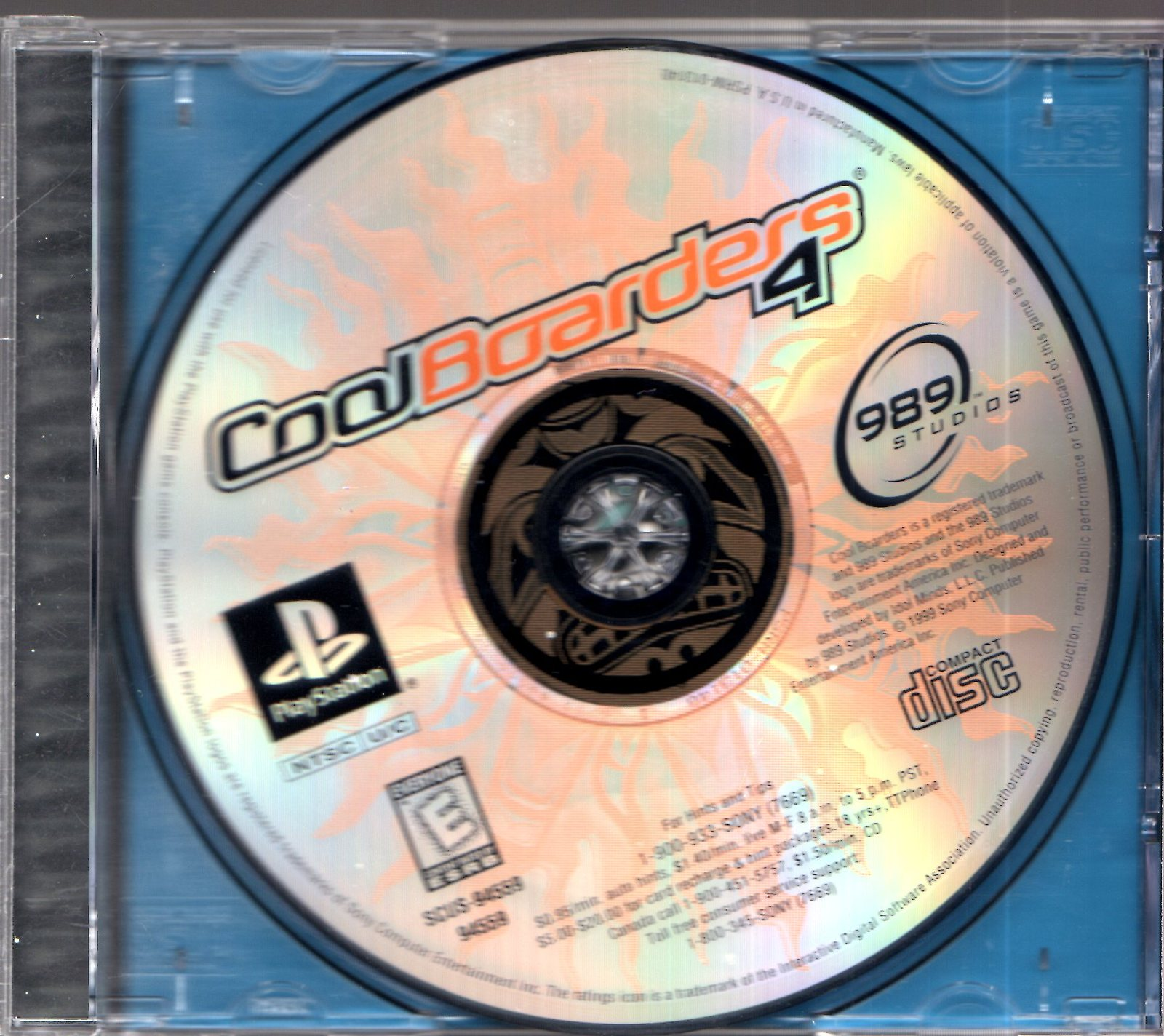 PlayStation - Cool Boarders 4