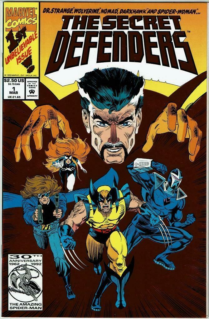 Defenders #7 VF 2001 Stock Image