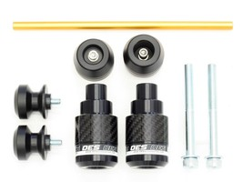 OES Carbon Frame Sliders Swingarm Spools Fork Sliders 18 19 20 Suzuki GS... - $129.99