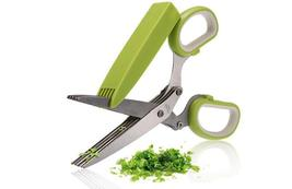 5 Blade Scissor With Plastic Cleaning Cover - $21.99