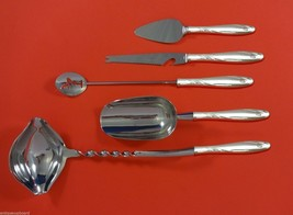 Willow by Gorham Sterling Silver Cocktail Party Bar Serving Set 5pc Custom Made - $289.85