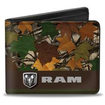 Wallet - Dodge Ram Camo Leaf Logo Bi-Fold - $17.99