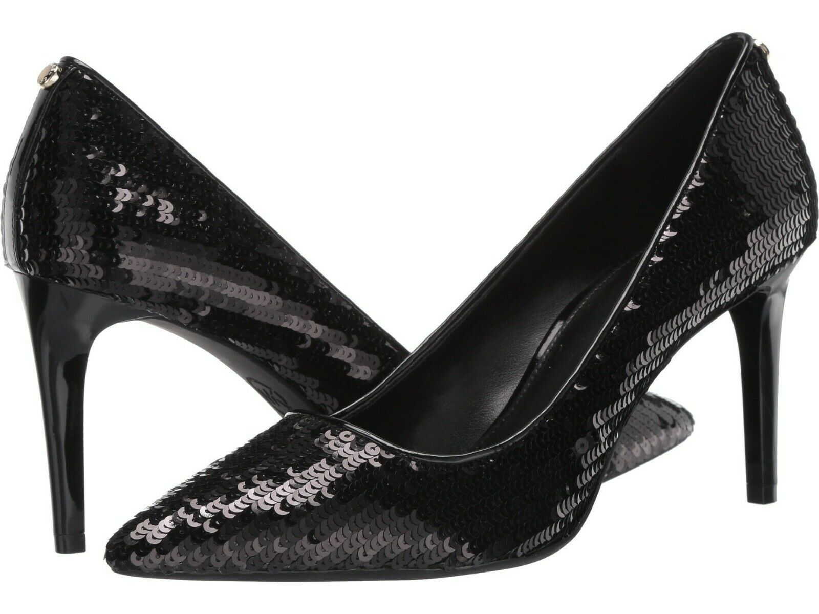 Michael Michael Kors Dorothy Flex Pump Sequins Shoes Black 8 - $79.19