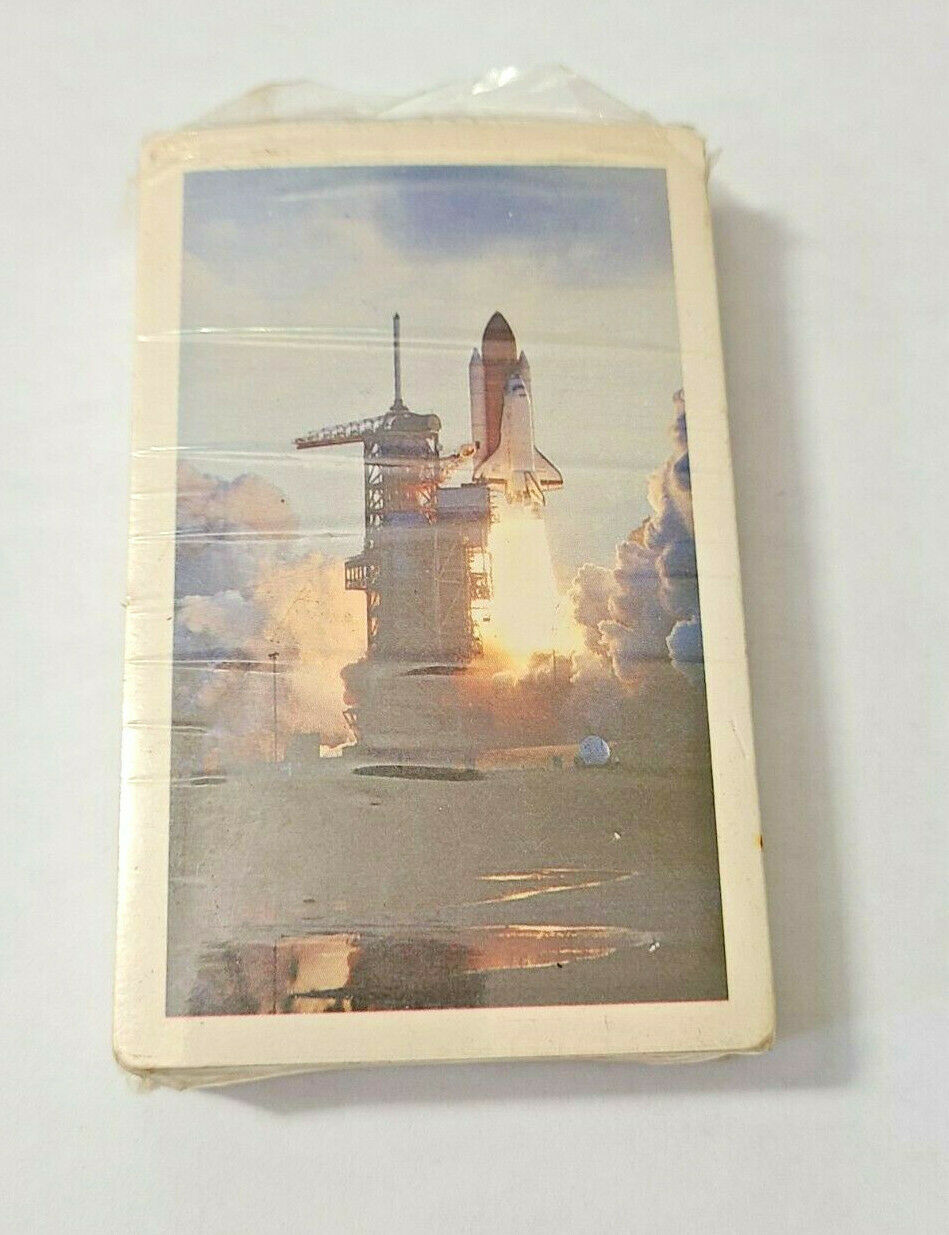 Space Shuttle Arrco Playing Card Co. Deck of Playing Cards   (#46)