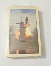 Space Shuttle Arrco Playing Card Co. Deck of Playing Cards   (#46) image 1