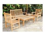 Teak wooden armchair n table n bench thumb155 crop