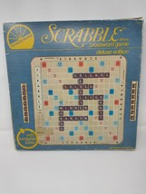 Vintage Deluxe Scrabble Turntable Edition Selchow & Righter 95/100 Tiles... - $56.09