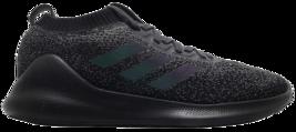 ADIDAS PRO BOUNCE 2018 LOW SIZE 7.0 NEW CORE BLACK SUPER RARE COMFORTABL... - $124.99