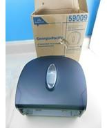 "NEW Georgia Pacific 9"" Jumbo Bath Tissue Dispenser Translucent Smoke 59009 - $19.59"