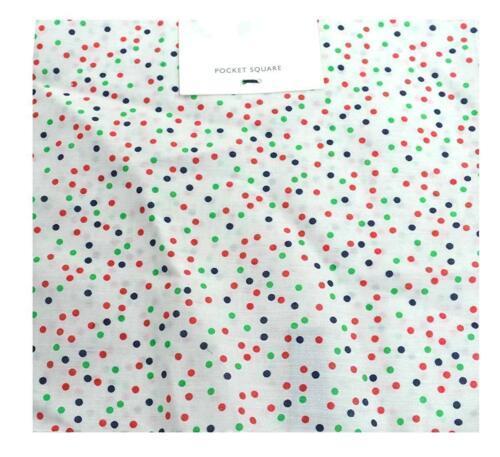 Tommy Hilfiger Men's Print Confetti Pocket Square (White)