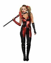 Dreamgirl Harlequin Blaster Harley Quinn Suicide Squad Halloween Costume... - $51.95