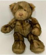 "Gund Teddy Bear Plush 44535 brown light dark browns 15-16"" - $19.79"