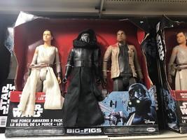 "Star Wars Rey Finn Kylo Ren 18"" Figures The Force Awakens - $19.99"