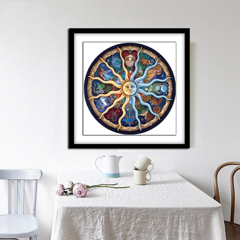 Beauty SUN Diamond Painting 5D DIY Embroidery Diamond Painting Mosaic Crafts