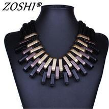 2018 New Acrylic Punk Vintage Fashion Necklaces &Pendants Women Statemen... - $30.00