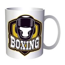 Boxing Box Man Vs Art 11oz Mug m679 - $14.48 CAD