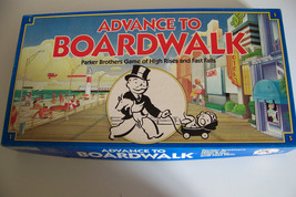 Advance to Boardwalk Parker Brothers Board Game by Parker Brothers - $15.32
