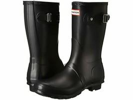 Hunter Women's Original Short Rain Boot, BLACK, 6 - $103.94