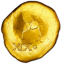 GOLD DISK 1715 FLEET 1 of 2 PIRATE GOLD COINS SHIPWRECK TREASURE MEL FIS... - $50,000.00