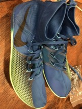 Nike Zoom Victory 4 XC Track Spike Shoes 878804 403 Blue Men's Size 10 - $34.65