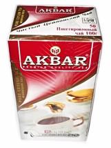 Akbar Premium Quality High Grown Black Tea 50 Tea Bags, 100g - $10.00