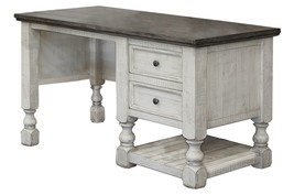 Jade White And Grey Farmhouse Desk - $1,084.05