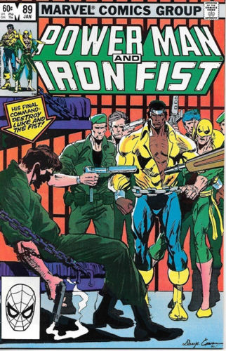 Power Man and Iron Fist Comic Book #89 Marvel Comics 1983 VERY FINE NEW UNREAD