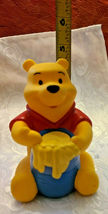 "4"" Disney Winnie the Pooh Squeak Toy with Honey Pot image 3"