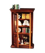 Dollhouse Filled Bookcase Display 1.717/2 Reutter Wood Miniature 2018 - $123.50