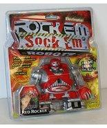 Electronic Rock Em Sock Em Robots Game Red Rocker - $39.59