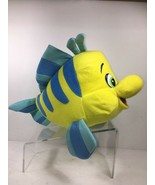 Little Mermaid Flounder Plush Authentic Disney Character Stuffed Animal ... - $24.87