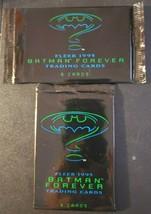1995 Batman Forever Fleer Trading Card Packs Lot of 2 Unopened Packs / 12 Cards - $9.90