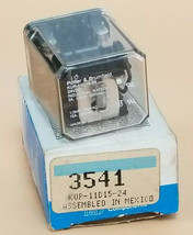 NIB POTTER & BRUMFIELD KUP-11D15-24 RELAY 3541, 24VDC, KUP11D1524