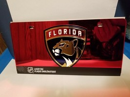 NHL Florida Panthers Laser License Plate Tag - Red - $29.39