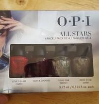 OPI All Stars Mini Nail Polish Pack of 4x .125oz Bottles - $16.90