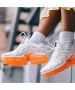 NIKE AIR MAX VaporMax PLUS TN sneakers shoes 36 - 45 white Orange  jeans - $99.99