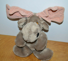 Vintage GANZBROS Plush MOOSE Toy 1981 Heritage Collection Wildlife Colle... - $12.79