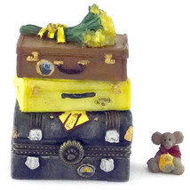 Boyds Bears Resin-Roses's Travels with Gulliver McNibble Treasure Box (#4041042) - $19.99