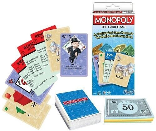 Monopoly - The Card Game [New] Family Fun!