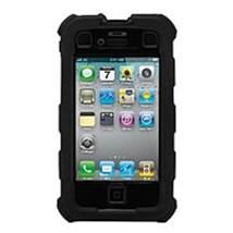 Ballistic Hard Core Series HA0778-M005 Smartphone Case for iPhone 4 - Black - $17.63