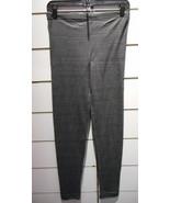 Leggings Grande Taille XL Gris Foncé sans Pied Sexy Stretch Coton Pantal... - $5.17