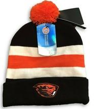 NWT New Oregon State Beavers Nike Cuffed Sideline Logo Pom Beanie Hat - £16.56 GBP