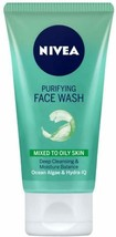 Nivea Purifying Face Wash For Mixed to Oily Skin 150 ML FREE SHIP - $12.86