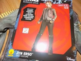 Child Size Medium 8-10 Rubie's Disney Star Wars Jyn Erso Halloween Costume New - $24.00